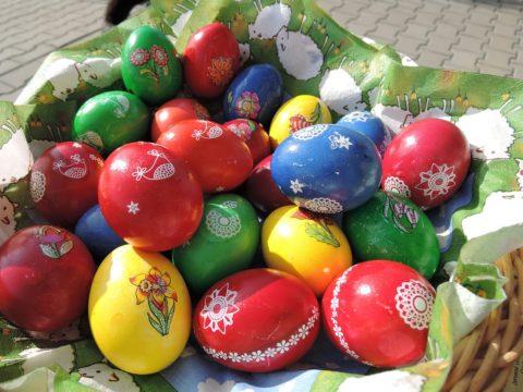 varena vejce velikonce