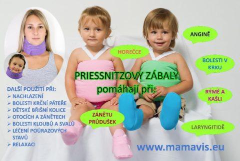 Priessnitzuv obklad pro deti