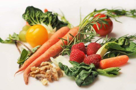 zelenina a orechy