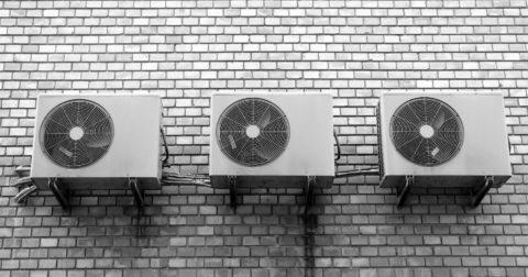 klimatizace ve vedrech
