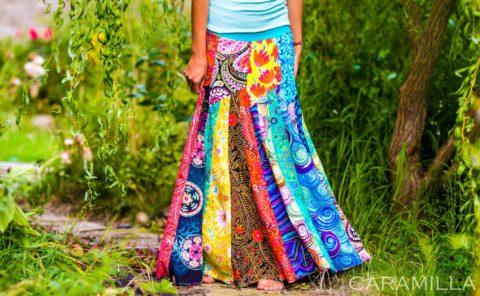 barevne kalhoty caramilla