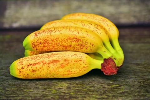 banany s hnedymi skvrnami
