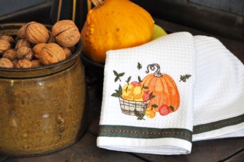 Stylové vaflové utěrky ze 100% bavlny mohou skvěle korespondovat i s ročním obdobím