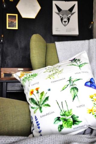Florální motivy rozzáří každý interiér