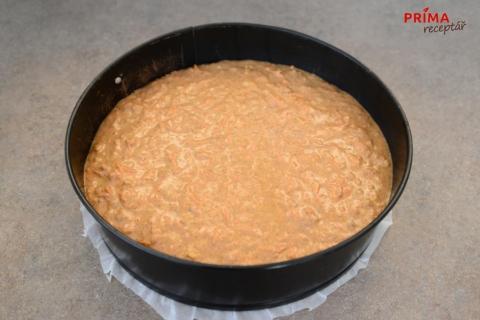 recept na mrkvovy dort