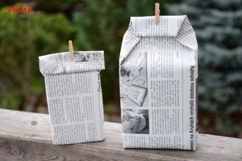 baleni darku do novin