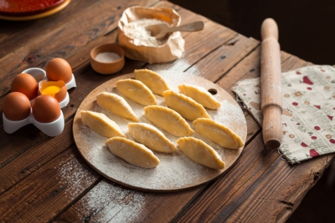 bramborové taštičky