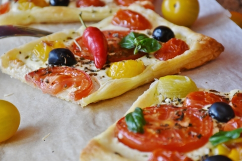 pizza listove testo