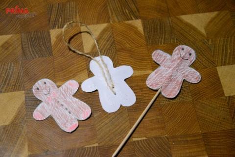 vanocni vyrobna pro deti pernicek