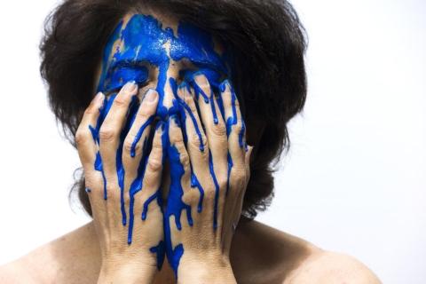 barva roku modra
