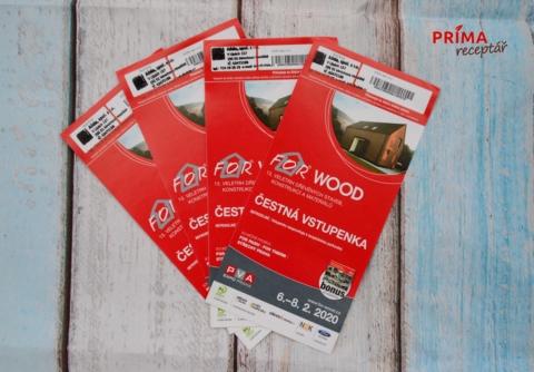 for wood soutez o vstupenky