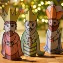 tri kralove omalovanky