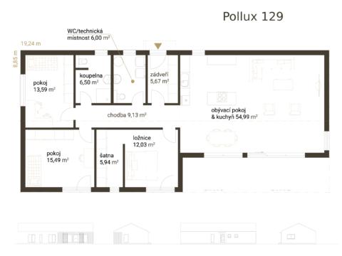 Pollux-129-studie