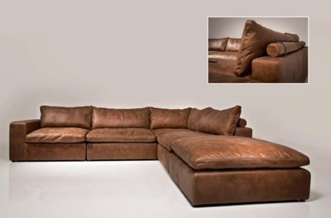 luxusni kozena sedacka