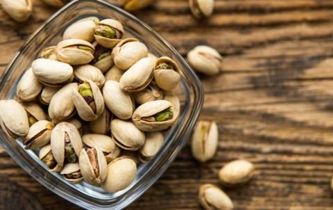 pistacie na vanoce