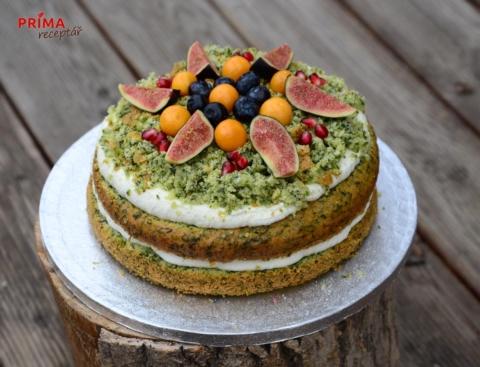 zeleny dort velikonocni