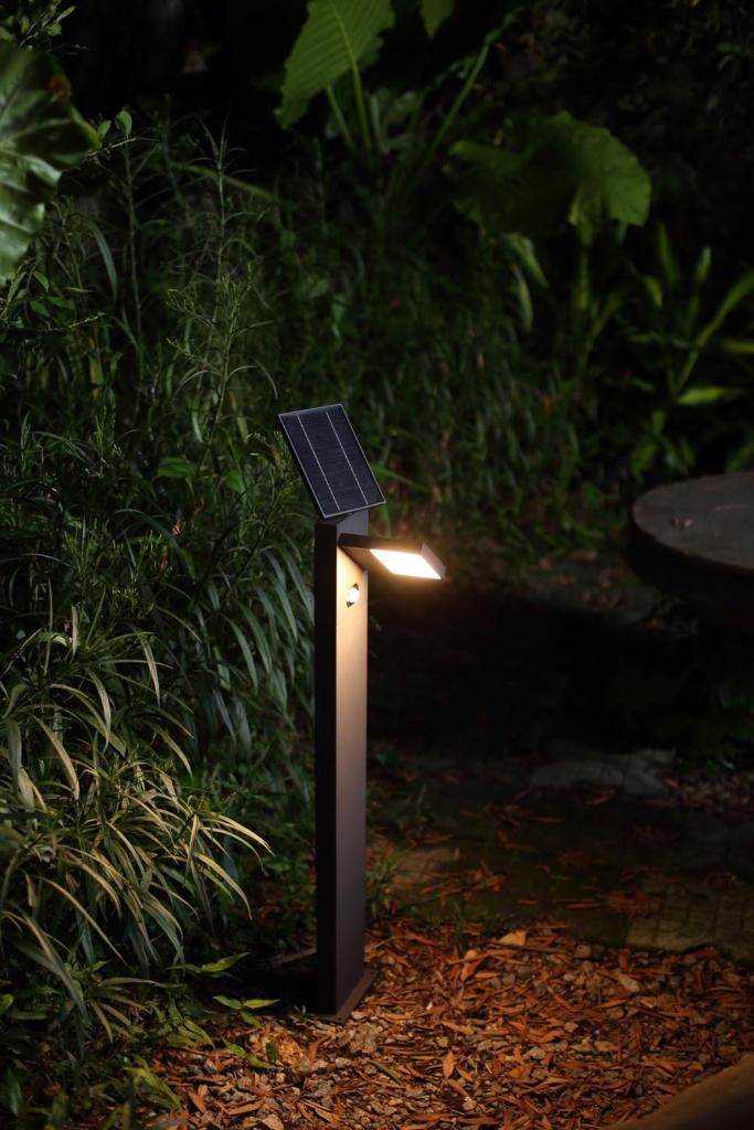 solarni svitidlo na zahradu